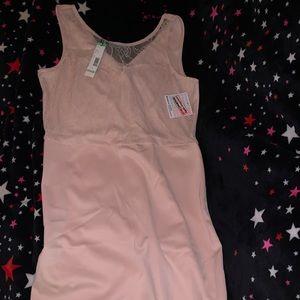 Metaphor lace light pink dress